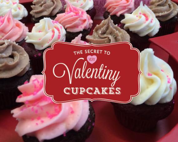 Very Valentiny Cupcakes Infographic