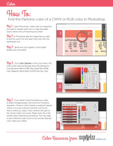 How to find the closest pantone color